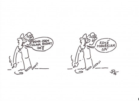 Kresleny Humor Jiriho Pirkla Fotoalbum Galerie Vtipu Hlava Rodiny